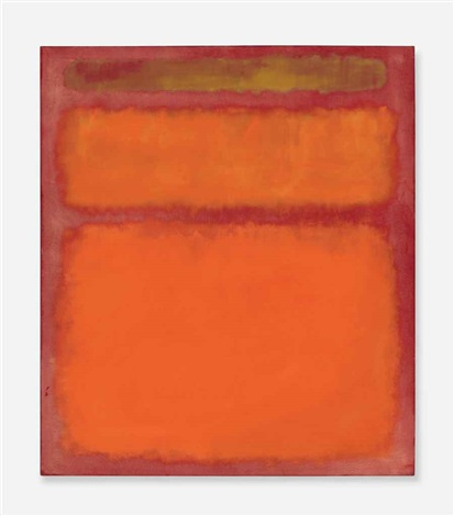 orange red yellow by mark rothko