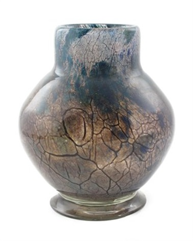 vase in fe291a pattern by monart