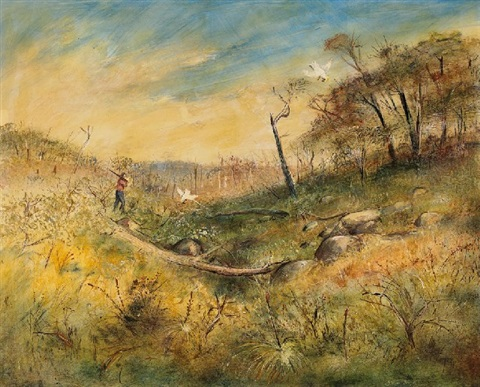 near bendigo by arthur merric bloomfield boyd