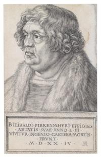 willibald pirkheimer by albrecht dürer