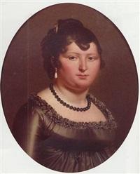 portrait de femme by jean-pierre granger