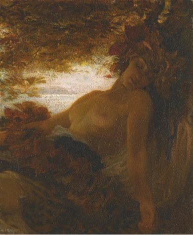 autumn by herbert james draper
