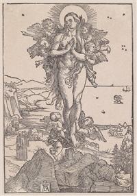 die verzückung der hl. maria magdalena by albrecht dürer
