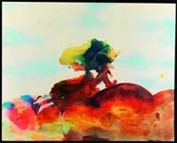 paysage bicéphale au soleil by marlène mocquet