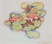waterlilies by rita angus