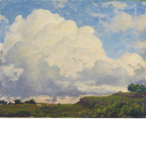 the solid cloud by charles courtney curran