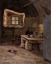 in der küche, g. arnhard by gabriele arnhardt-deninger