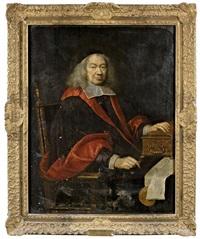 portrait d'etienne iii, marquis d'aligre (1592-1677) (garde des sceaux, 1672-1674, chancelier et garde des sceaux, 1674-1677) by pierre mignard the elder