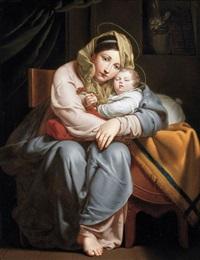 la vierge et l'enfant by françois ange