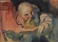 vieillard by jean georges cornelius