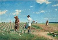 arbete på fälten by axel jungstedt