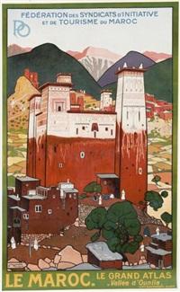 le maroc, le grand atlas by jacques majorelle