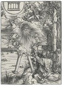 saint john devouring the book (from the apocalypse) by albrecht dürer