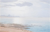 portobello pier from near joppa saltpans by julian alden weir