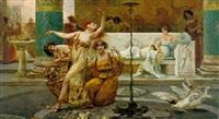 bacchanalian dance on the capitol by emilio vasarri