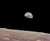 lever de terre - earthrise (apollo 8, 24 décembre 1968) by william anders