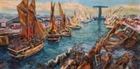 pelabuhan (port) by sujatno koempoel