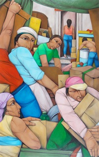 los mudados (los desarraigos) by pablo solari