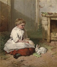 the pet rabbits by james cassie