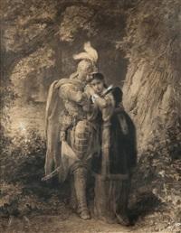 pożegnanie marii i wacława by elviro michael andriolli