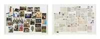 postcards (diptych) by christian marclay