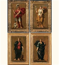 la force (+ 3 others; 4 works) by rené antoine houasse