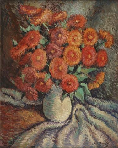 vaso con flores by cesáreo bernaldo de quirós