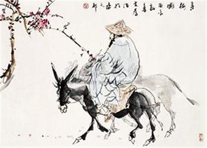 寻梅图 by liu dawei