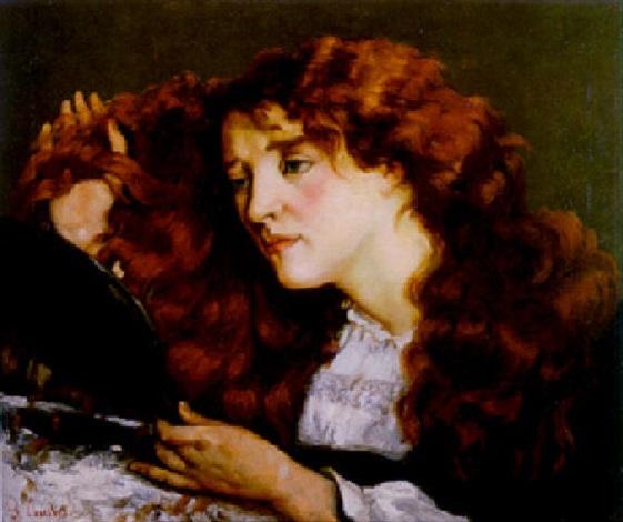 portrait de jo la belle irlandaise by gustave courbet