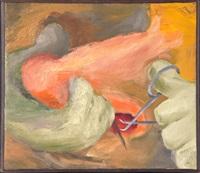 untitled (hygiene #4) by lee lozano