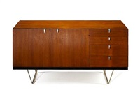 sideboards (pair) by john & sylvia reid