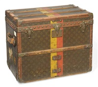 travelling trunk by louis vuitton