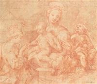 le mariage mystique de sainte catherine by carlo francesco nuvolone