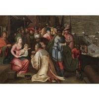 the adoration of the magi by kaspar (jasper) van den hoecke