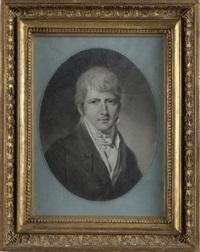 portrait d'adolphe edme theodor archambault regnard des coudrees by jacques antoine marie lemoine