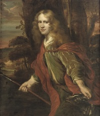 portrait of a gentleman (anthony van hengst?) by jürgen ovens