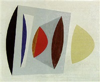 abstract composition by arthur jackson