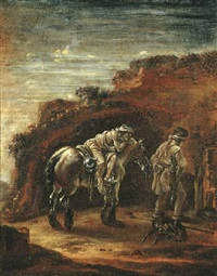 the good samaritan by pieter cornelius verbeeck