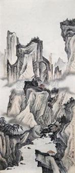 山水 by shao fang