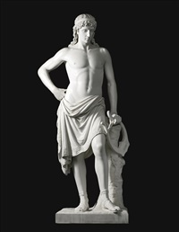 orpheus with his lyre by william wetmore story