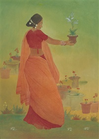 untitled by abdur rahman chughtai