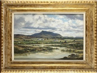 mountain near waterville by claude muncaster