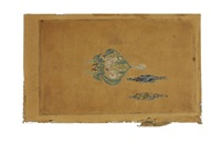 dessin préparatoire pour un pendentif by rené lalique