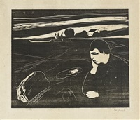 melancholy by edvard munch