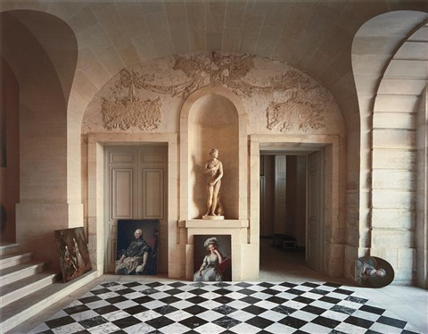 galerie basse château de versailles by robert polidori