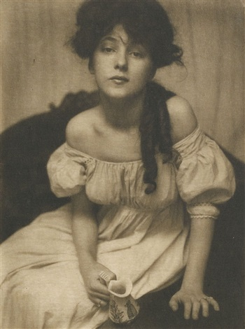 portrait miss n by gertrude kasebier