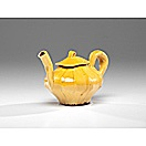 honey-glazed teapot by mark pharis