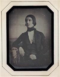 portrait de jeune homme by noel-marie lerebours