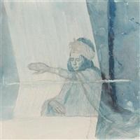 tapisserie à bou saada by francois marie léon de marliave