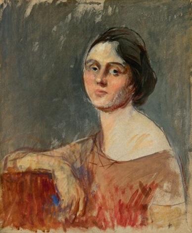 portrait de jeune femme by jean louis forain